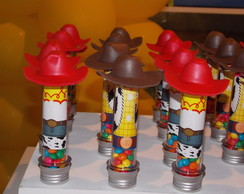 Tubete lindos decorados woody jessie toy