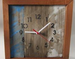 090ddf0cb39 Relógio de parede vintage rústico