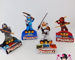 Porta Chocolate Ninjago