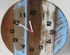 9232821bd0d ... Relógio de parede vintage rústico