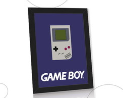 Quadro do Game Boy console