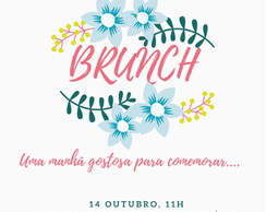 Convite virtual - Brunch