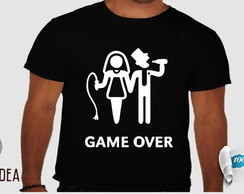 camiseta game over #026