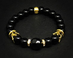 Crown Gold Bracelet