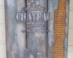 Porta chaves chateau