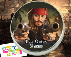 Latinhas Festa Piratas do Caribe