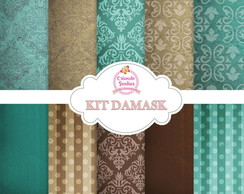 KIT PAPEL DIGITAL DAMASK