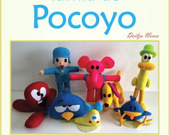 Molde Turma do Pocoyo