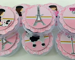 Latinha scrapbook Paris