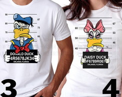 2 Camisetas Mickey Minnie Donald Preso