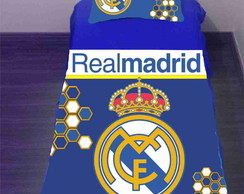 Colcha do Real Madrid Solteiro