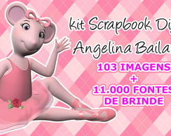 Scrapbook Digital Angelina Bailarina
