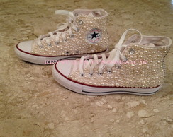All Star Adulto Cano Alto - Perolado