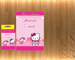 Kit Colorir hello kitty