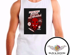 camisa regata demolidor daredevil