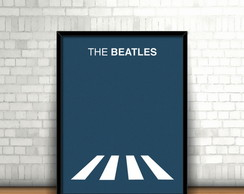 Quadro Abbey Road Minimalist