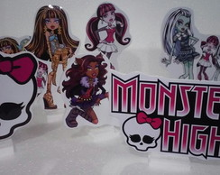 Kit mesa Monster High 9 peças