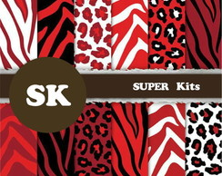 Kit Papel Digital Animal Print 11