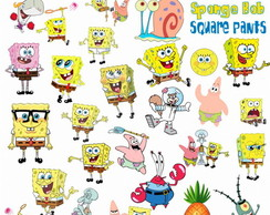 Kit Digital Scrapbook Bob Esponja 2