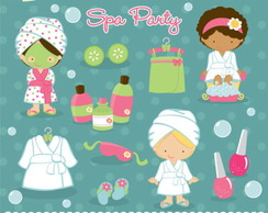 Kit Digital Scrapbook Boneca Spa 30