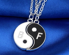 Colar Best Friends Yin Yang