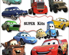 Kit Digital Carros Disney Cars 4