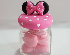 Lembrancinha Minnie Biscuit *ROSA