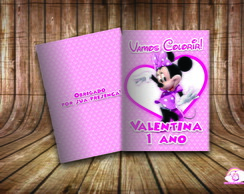 Revista Colorir Personalizado Minnie