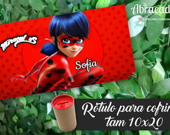 Rótulo Cofrinho Digital Miraculous
