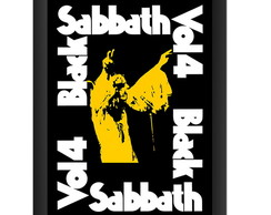 Quadro Black Sabbath Vol 4 Poster Ozzy Banda Rock Decoracao