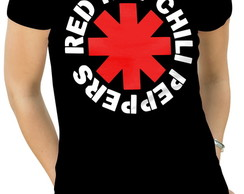 Camiseta Feminina red hot chili peppers