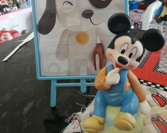 Centro de mesa mickey baby biscuit