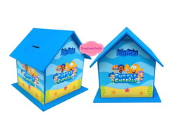 enfeite de aniversario Bubble Guppies