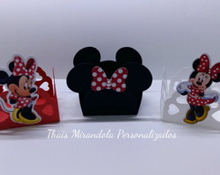 Forminha com aplique Minnie