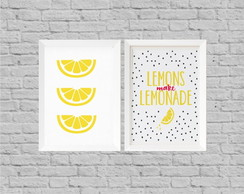 Kit decor lemonade