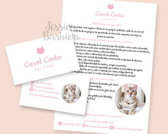 Kit Identidade Visual Cat Sitter