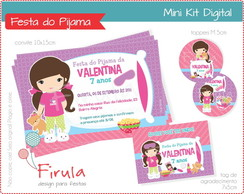 Mini Kit Digital Festa do Pijama