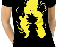 Camiseta Feminina goku dragon ball
