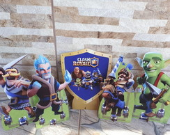 Kit Clash Royale mdf / mesa