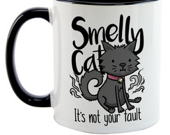 Caneca Colorida Friends Smelly Cat