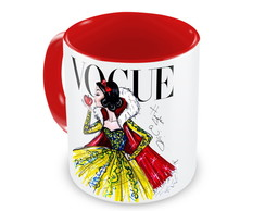 Caneca Princesa Branca de Neve by Vogue