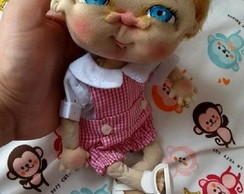 Cloth Doll Precious Creche
