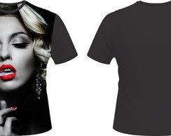 Camiseta Marilyn Monroe Gangsta