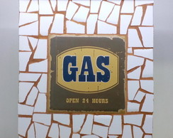 "Porta Chaves Retro ""GAS"""