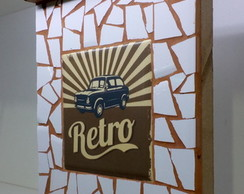 "Porta Chaves Retro ""Cars Retro 2"""