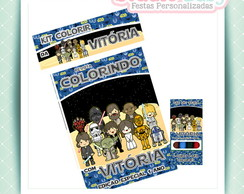 Kit de colorir Star Wars