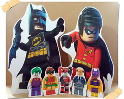 Kit Display Festa Infantil Batman Lego Heroes