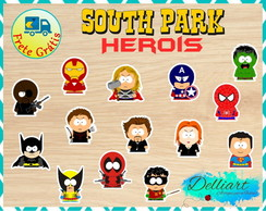 Aplique - South Park Herois