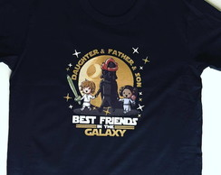 Kit Star Wars - Best Friend - Pai e Filho (Ou Filha)