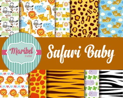 Papel Digital - Safari Baby